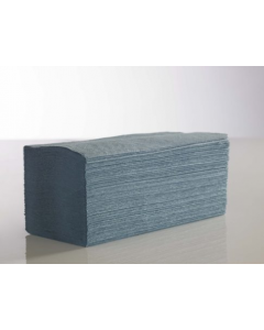Alternative- Code 02-046, 02-017- V FOLD 1 PLY PAPER HAND TOWELS BLUE 3600 PACK