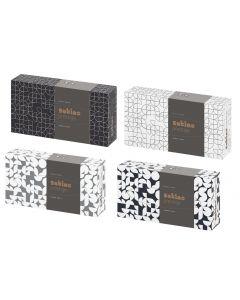 FACIAL TISSUE 2 PLY SATINO PRESTIGE 100 SHEET X 40 BOXES  (63p + VAT Per Box)