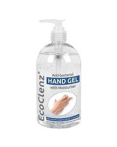 ECO CLENZ HAND SANITISER GEL 6X500ML