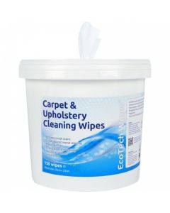 CARPET & UPHOLSTERY CLEANING WIPES  30X25CM - 150 SHEETS
