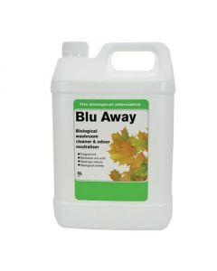 BLU AWAY BIO WASHROOM CLEANER 2X5LTR