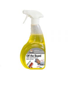 WHITE BOARD CLEANER AND LABEL REMOVER 6 X 750ML