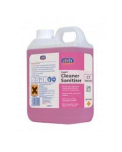 C1 SUPER CON. LIQUID CLEANER SANITISER 2X2LTR