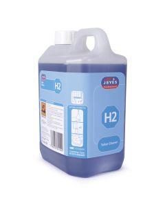H2 SUPER CON. TOILET CLEANER 2X2LTR