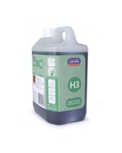 H3 SUPER CON. GLASS AND MULTISURFACE CLEANER 2X2LTR