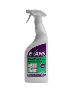 EVANS FINAL TOUCH WASHROOM CLEANER 6X750ML