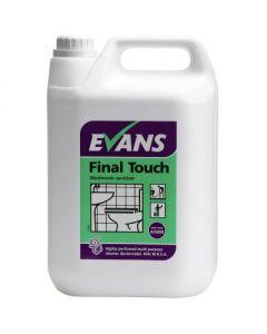 EVANS FINAL TOUCH WASHROOM CLEANER 2X5LTR