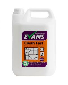 EVANS CLEAN FAST HEAVY DUTY WASHROOM CLEANER 2 x 5L