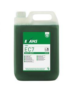 EVANS EC7 HEAVY DUTY HARD SURFACE CLEANER 5 LITRE E-DOSE RANGE