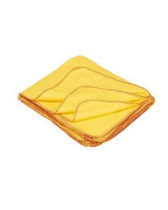 STANDARD  50 X 35CM YELLOW DUSTERS  10 PACK