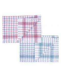 CATERERS CHECK TEA TOWELS 10 PACK