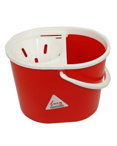 LUCY OVAL MOP BUCKET WITH SIEVE 7 LITRE