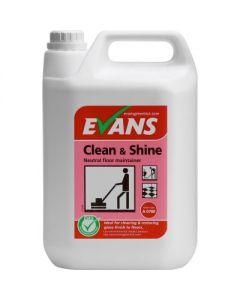 EVANS CLEAN & SHINE 2X5LTR