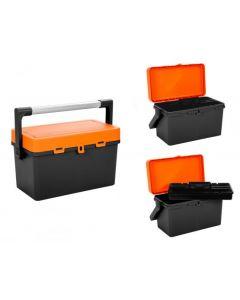 TOOL BOX CADDY IN GRAPHITE / ORANGE