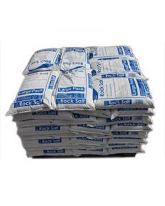 BROWN  ROCK SALT FULL PALLET 42 X 23KG BAGS