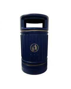 HOODED LITTER BIN AND LINER 100L 2 WAY