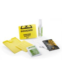 REFILL BODY FLUID DISPOSAL KIT - 1 APPLICATION IN POLY BAG