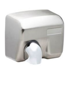 MID-RANGE  HAND DRYER 23OOW - BRUSHED STAINLESS STEEL