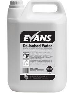 EVANS DE-IONISED WATER 2X5LTR