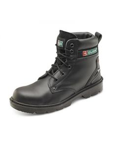 SMOOTH LEATHER 6 INCH SAFETY BOOT