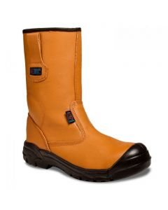 TAN LINED PLUS RIGGER BOOTS
