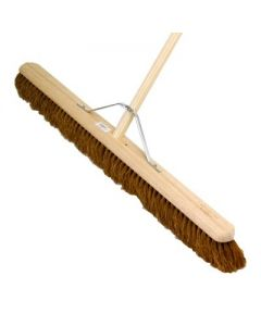 """36"""" / 914MM SOFT COCO BROOM AND HANDLE ASSEMBLED"""