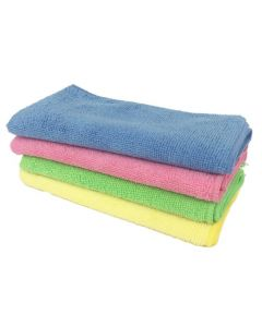MICROFIBRE STANDARD CLEANING CLOTH 10 PACK