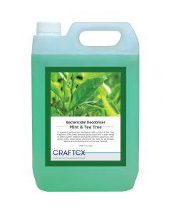 CRAFTEX MINT & TEA TREE BACTERICIDAL DEODORISER 5LTR