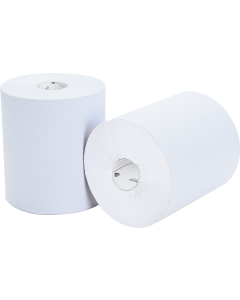 HAND TOWEL ROLL 2 PLY IMPRESSIONS 480 SHEET WHITE 8 PACK