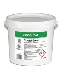 PROCHEM CRYSTAL GREEN HOT WATER EXTRACTION CLEANER 4KG