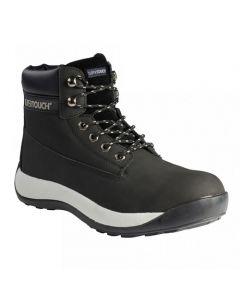 XLP30 STEEL TOE CAP BLACK SAFETY BOOTS