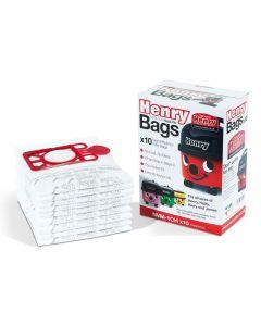 NUMATIC NVM-1CH HEPAFLO VACUUM BAGS 10 PACK