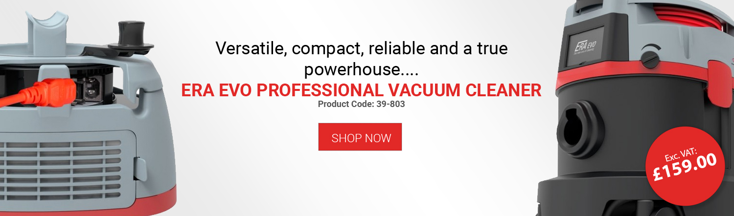 Versatile, compact, reliable and a true powerhouse.... ERA EVO PROFESSIONAL VACUUM CLEANER